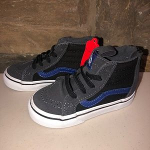 New VANS Sk8-Hi Boys Shoes Toddler 5